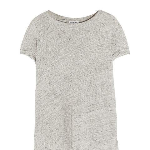 Le Muscle Slub Linen T-Shirt