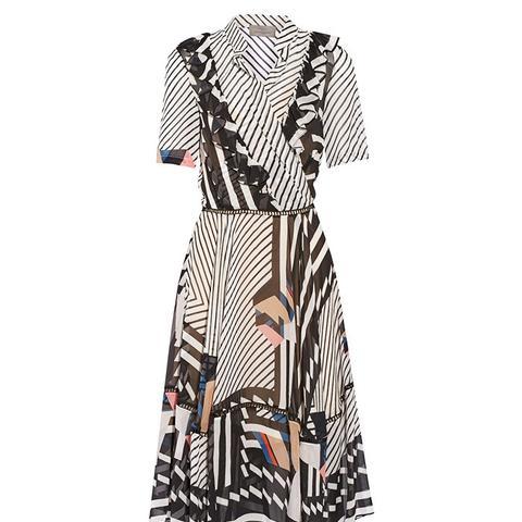 Samuel Printed Silk-Georgette Dress