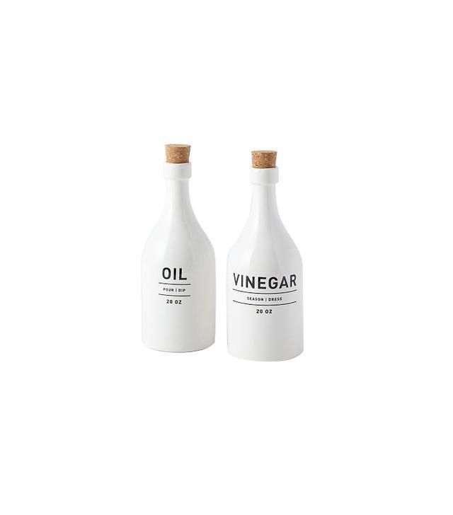 West Elm Utility Oil and Vinegar Set
