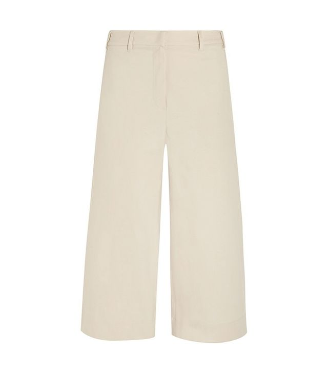Brunello Cucinelli Stretch-Cotton Culottes