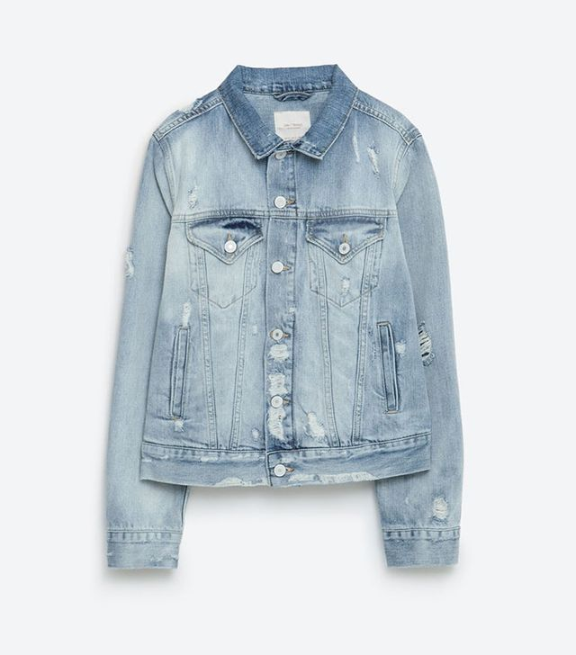 "Zara ""I Am Denim"" Collection Jacket"