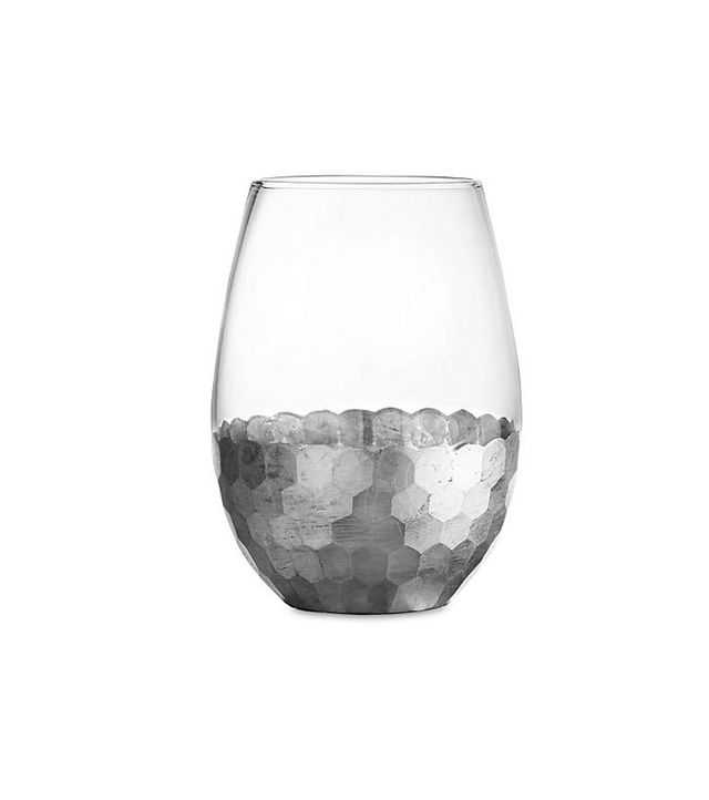 Jay Import Daphne Silver Stemless Glasses