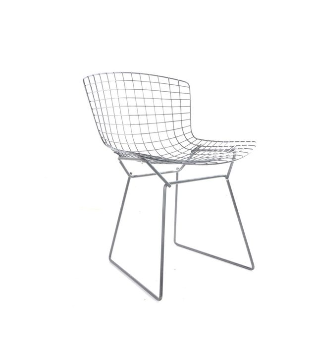 Vintage Mid-Century Modern Metal Chair