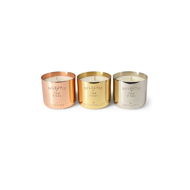 Tom Dixon Three Candle Set