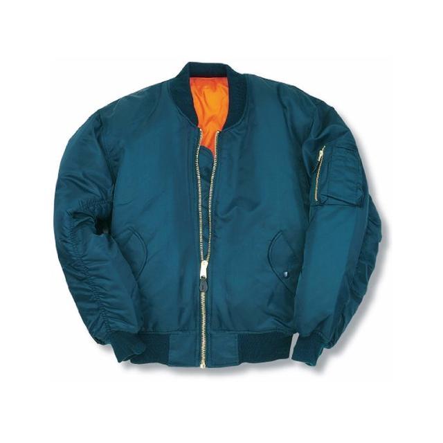 Amazon fashion: MA1 Bomber Flight Jacket With Heavy Brass Zip