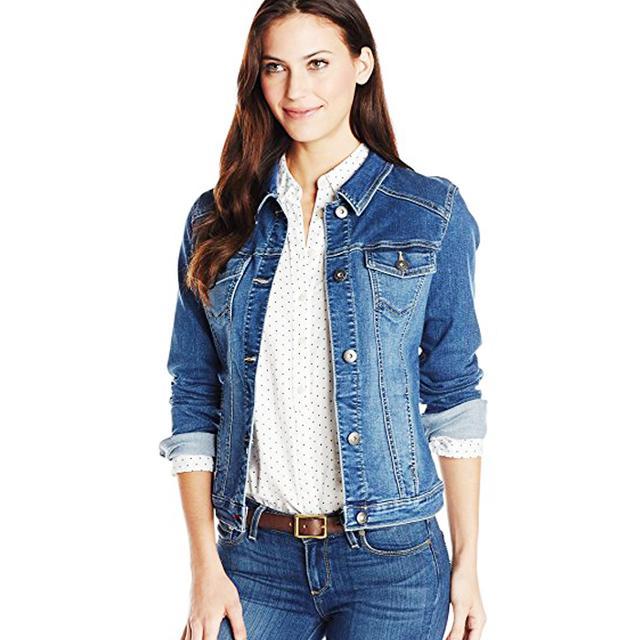 Amazon fashion: Wrangler Authentics Women's Denim Jacket