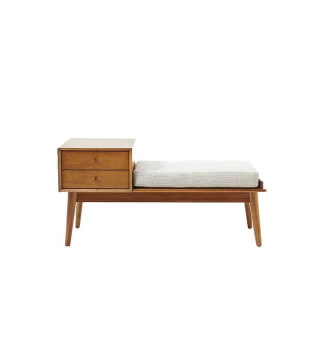 West Elm Midcentury Storage Bench