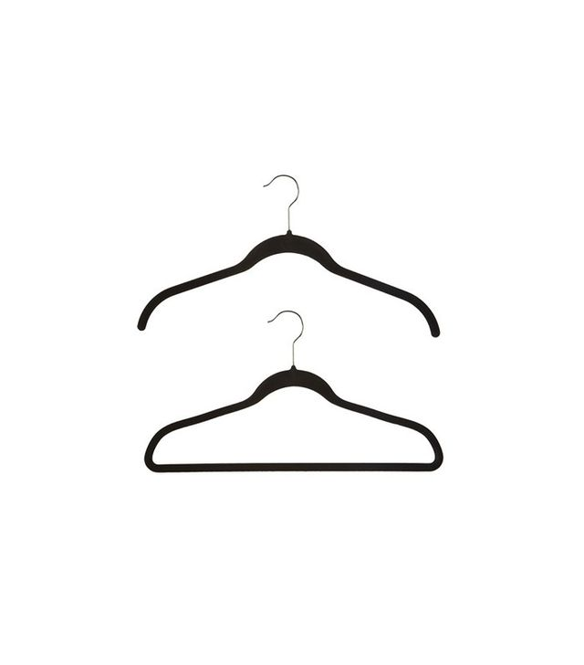 The Container Store Case of 40 Black Huggable Hangers
