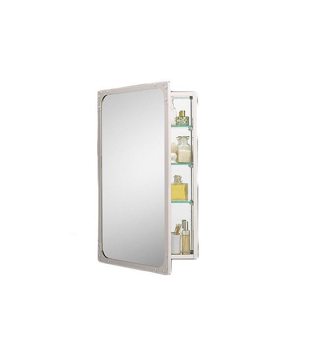 Restoration Hardware Industrial Rivet Medicine Cabinet