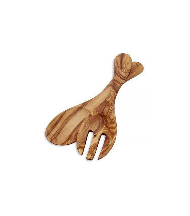 Sur la Table Italian Olivewood Salad Hands