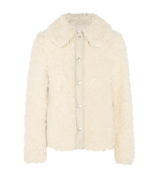 See by Chloé Faux Shearling Jacket