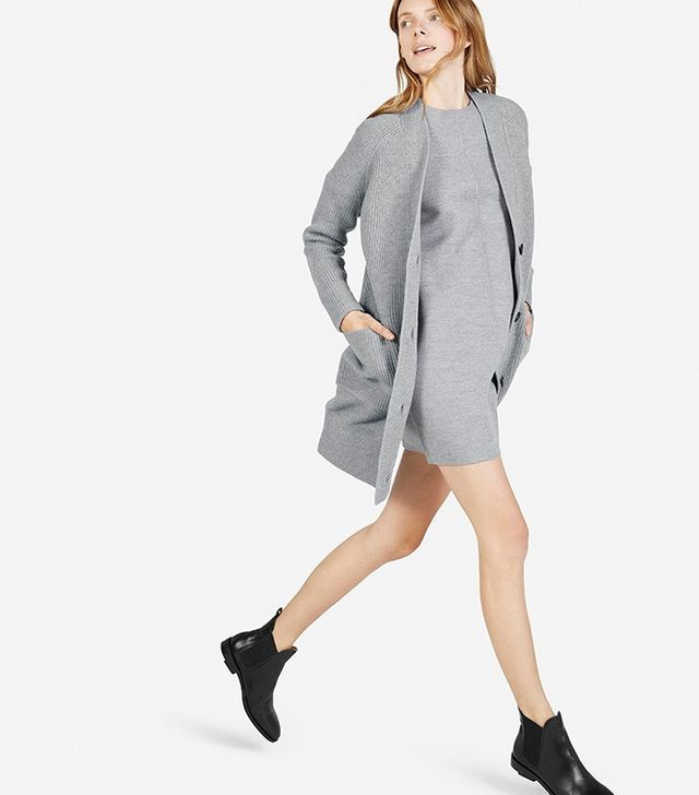 Everlane Chunky Wool Cardigan