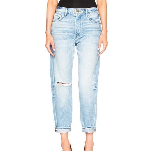 Le Original Crop Jeans in Gregory