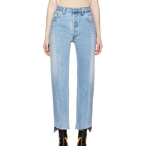 Blue Reconstructed 1410 Jeans