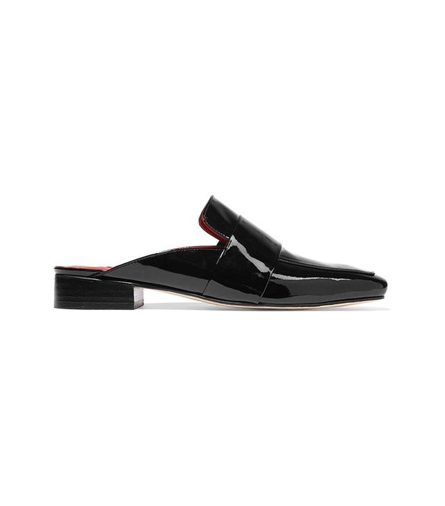 Dorateymur Filiskiye Patent-Leather Slippers