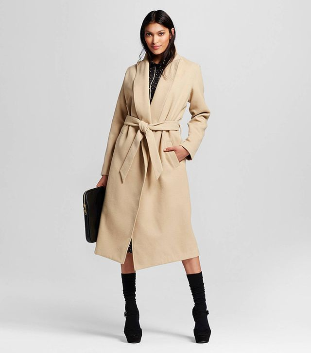 Who What Wear Great Wrap Coat