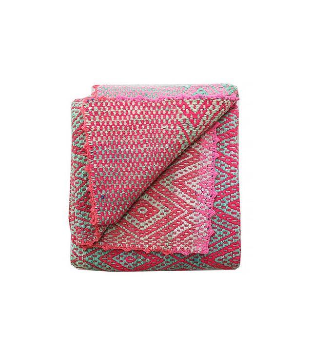Shoppe Amber Interiors Peruvian Frazada Blanket