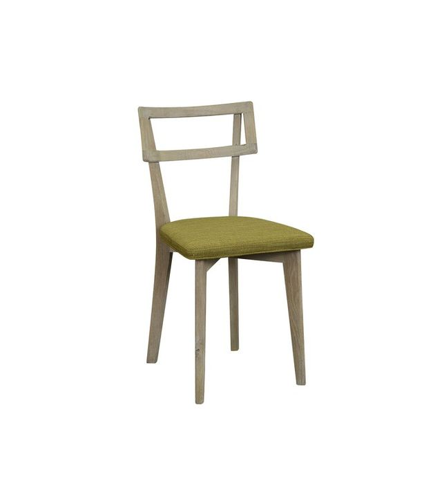 H.D. Buttercup Jorgen Oak & Fabric Chair