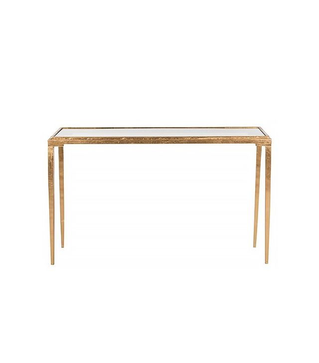 One Kings Lane Antiqued Gold Leaf Juliana Coffee Table