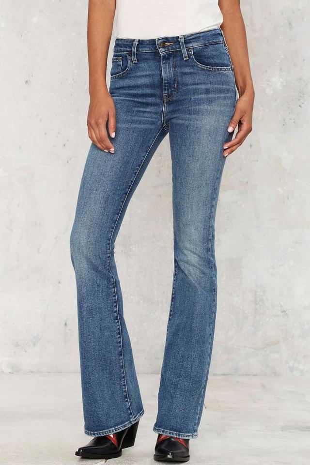 Nasty Gal Star Gazer Flare Jeans