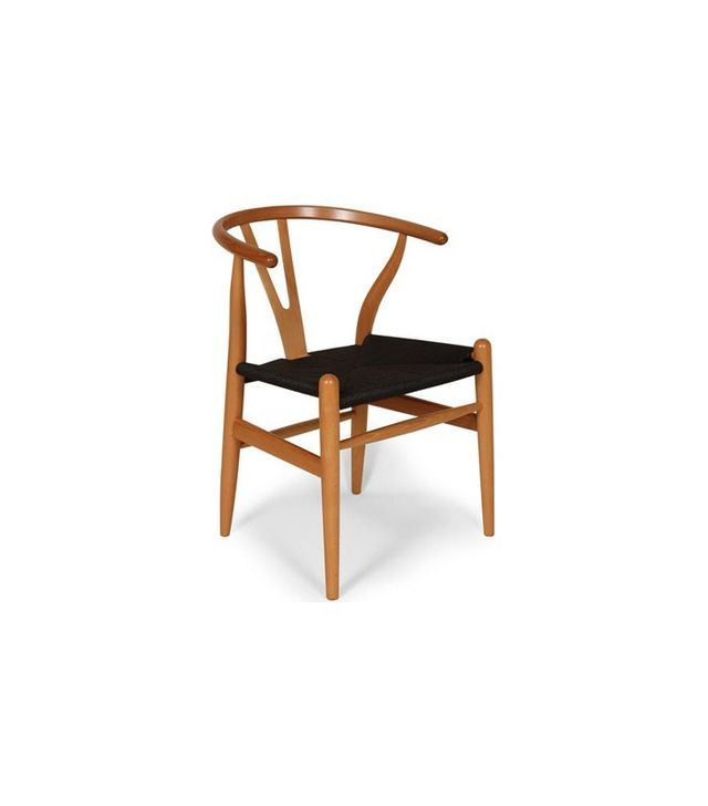 Hans J. Wegner The Wishbone Chair in Natural and Black