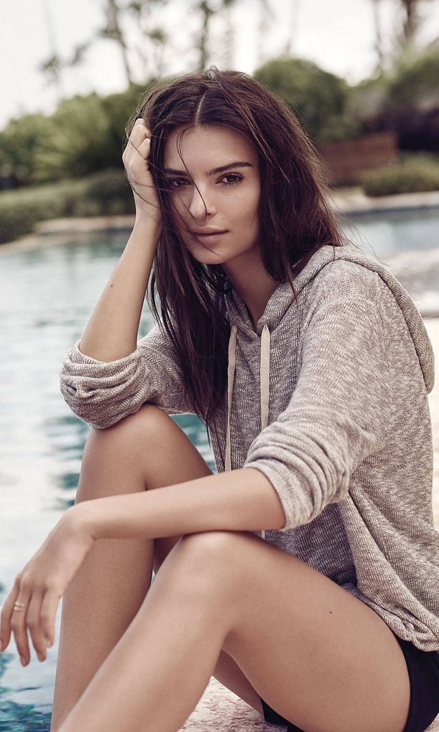 Express Textured Knit One Eleven Hoodie