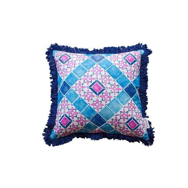 Liberty Trading Co Moroccan Tile Cushion