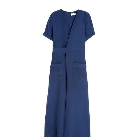 Le Wrap Maxi Dress