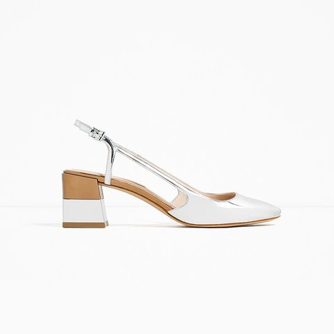 Laminated Block Heel