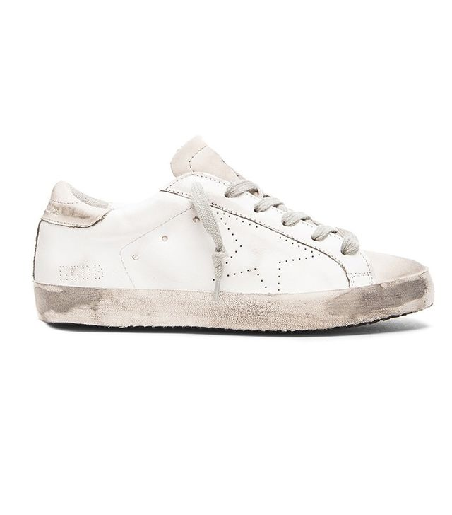 Golden Goose Superstar Low Top Leather Trainers