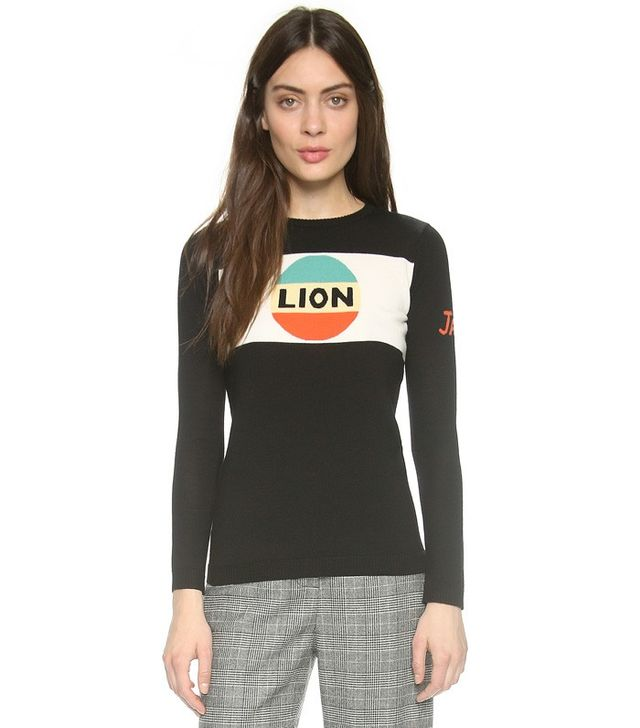 Bella Freud Lion Stripe Sweater