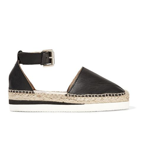 Glyn Leather Espadrilles