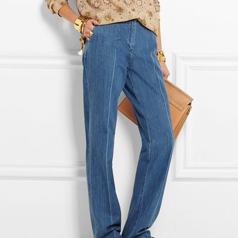 Whitcomb High-Rise Straight-Leg Jeans