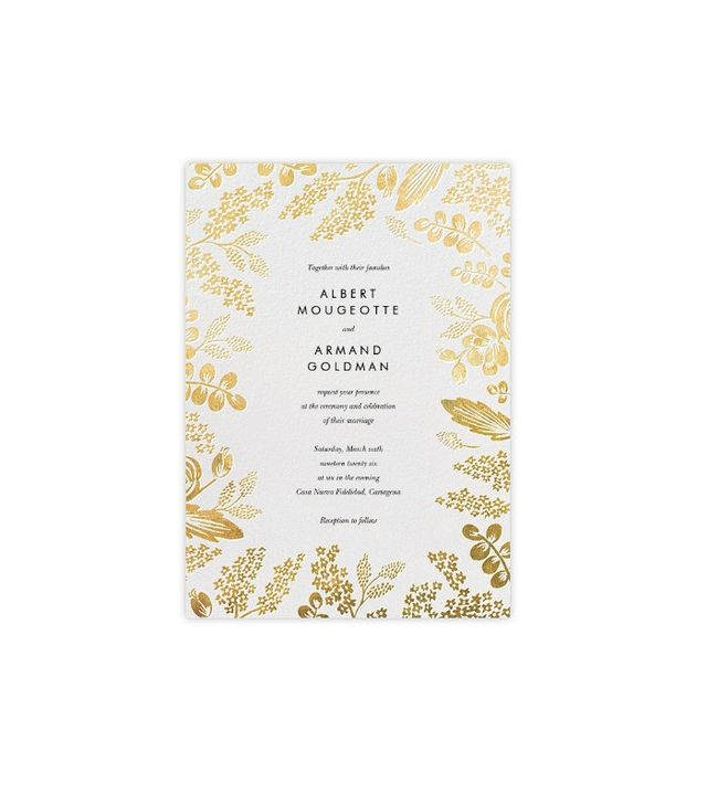 Paperless Post Heather and Lace Invitation