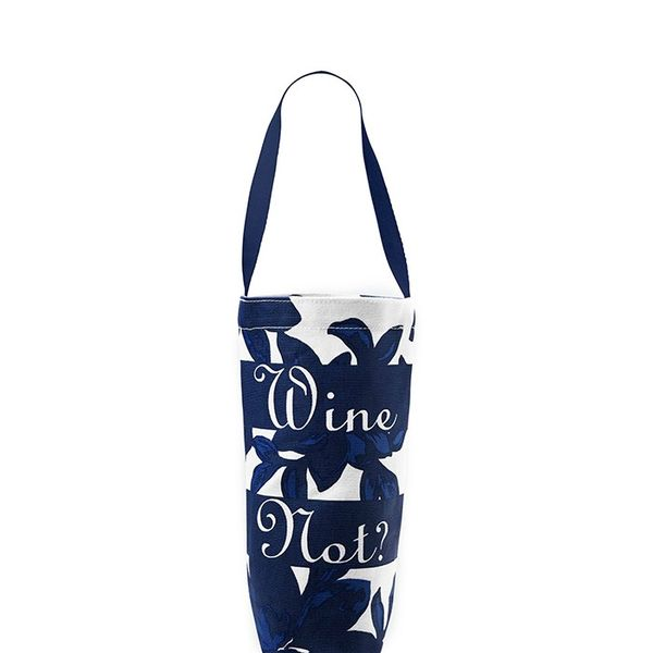 Draper James Savannah Floral Wine Tote