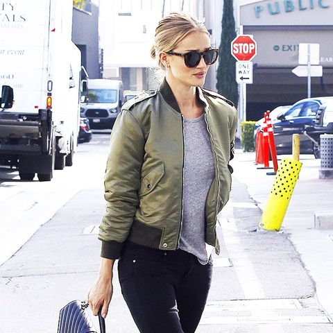 How It Girls Wear Bomber Jackets (and How You Should Too ...