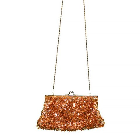 Sequin Lock Purse