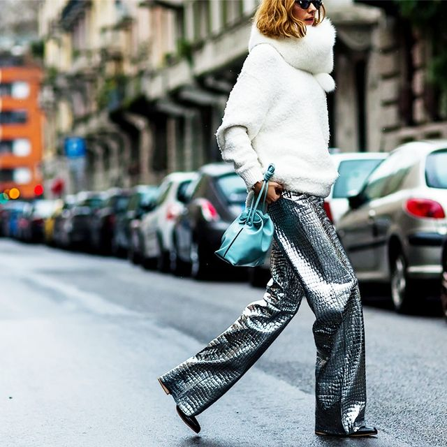 How Street Style Stars Pull Off the Futuristic Trend