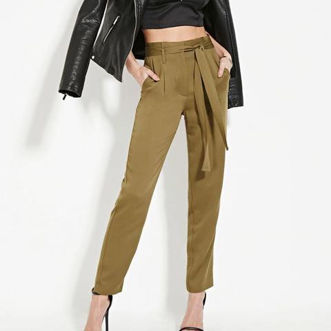 Contemporary High-Waist Pants