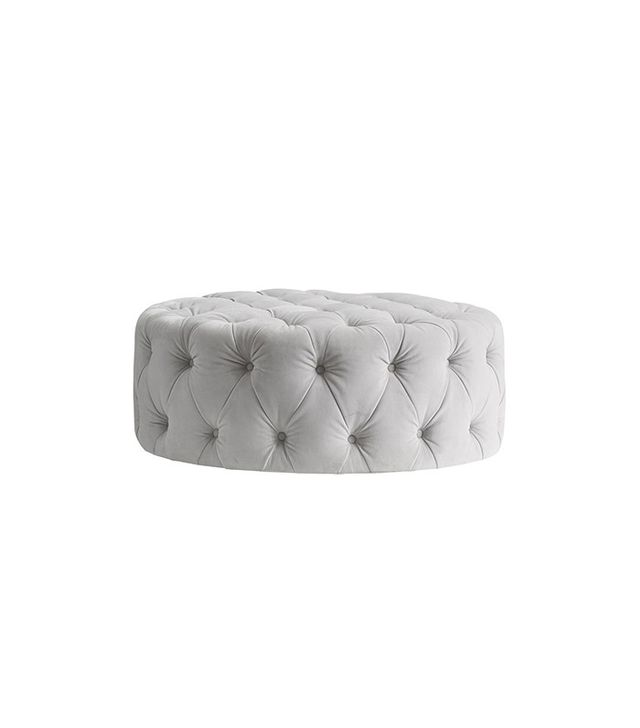 Pottery Barn Kids Monique Lhuillier Round Tufted Ottoman