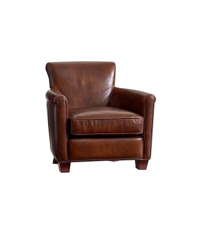 Pottery Barn Kids Monique Lhuillier Mini Leather Irving Chair