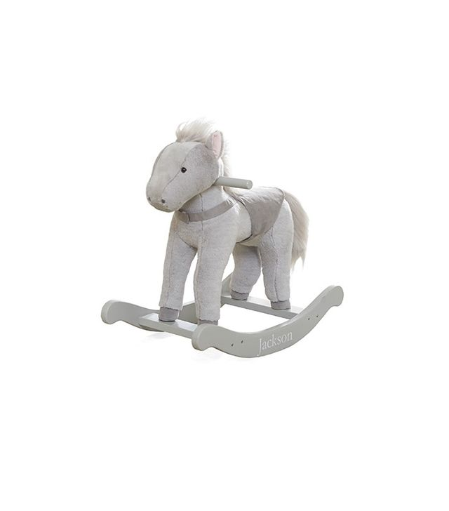 Pottery Barn Kids Monique Lhuillier Horse Plush Rocker