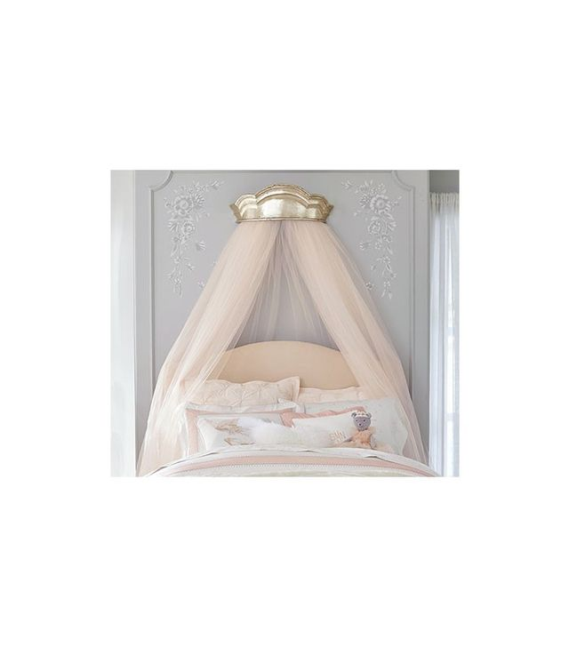 Pottery Barn Kids Monique Lhuillier Gold Cornice Canopy