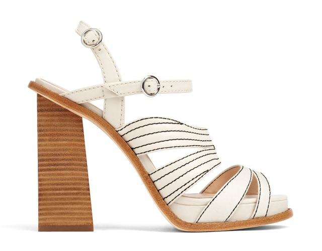 Misha Nonoo x Aldo Rise Shantell Sandals in Bone