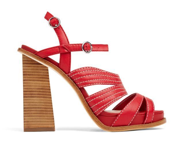 Misha Nonoo x Aldo Rise Shantell Sandals in Red