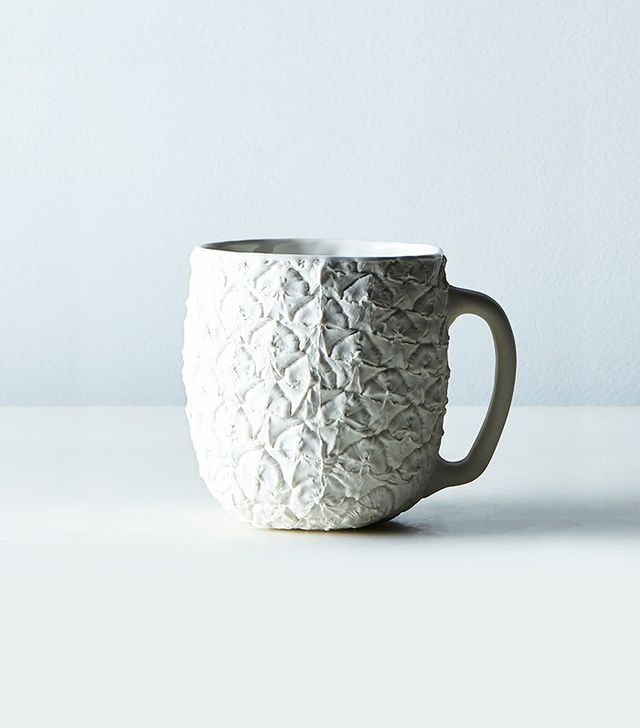 Food52 Porcelain Pineapple Mug