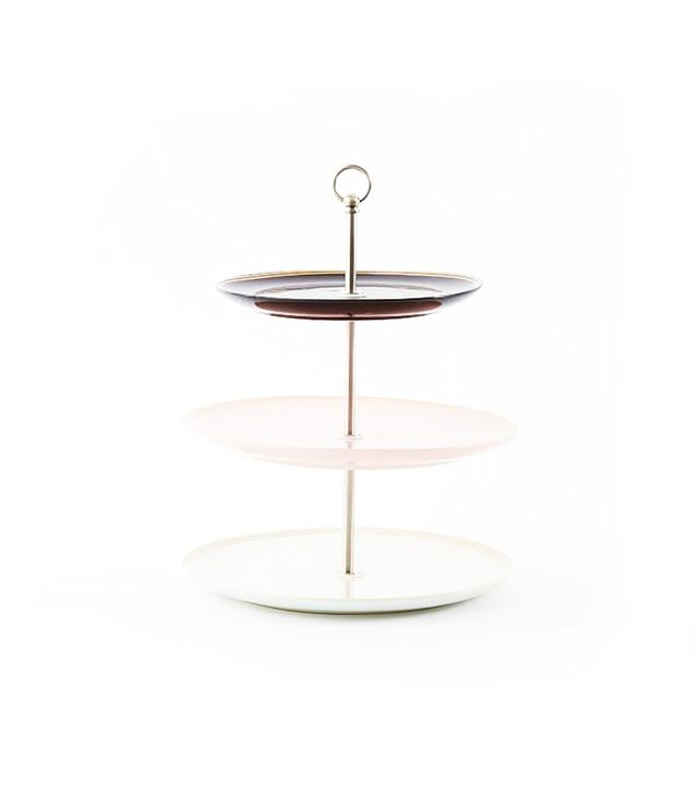 Fishs Eddy Gilded Petit Four Stand