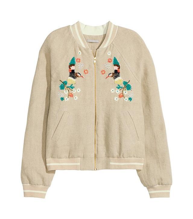 H&M Linen Jacket