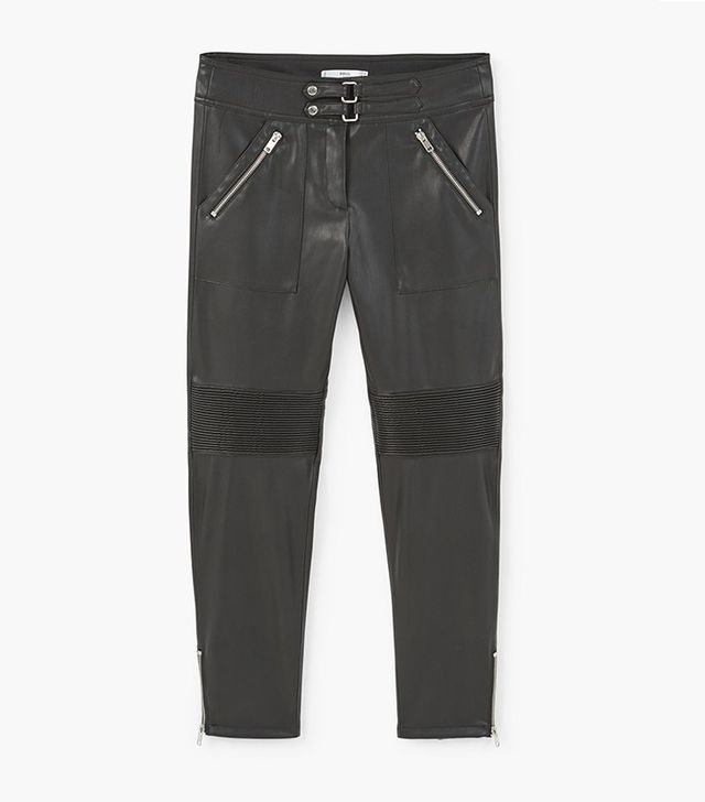 Mango Zip Trousers