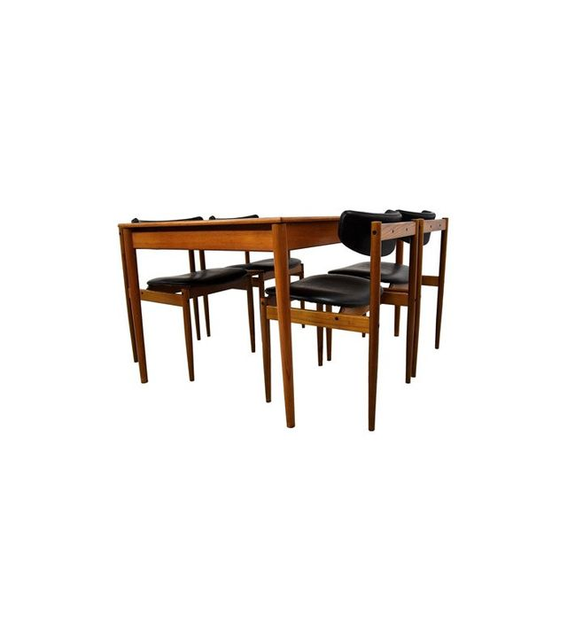Thereca 1960s Midcentury Dining Room Set